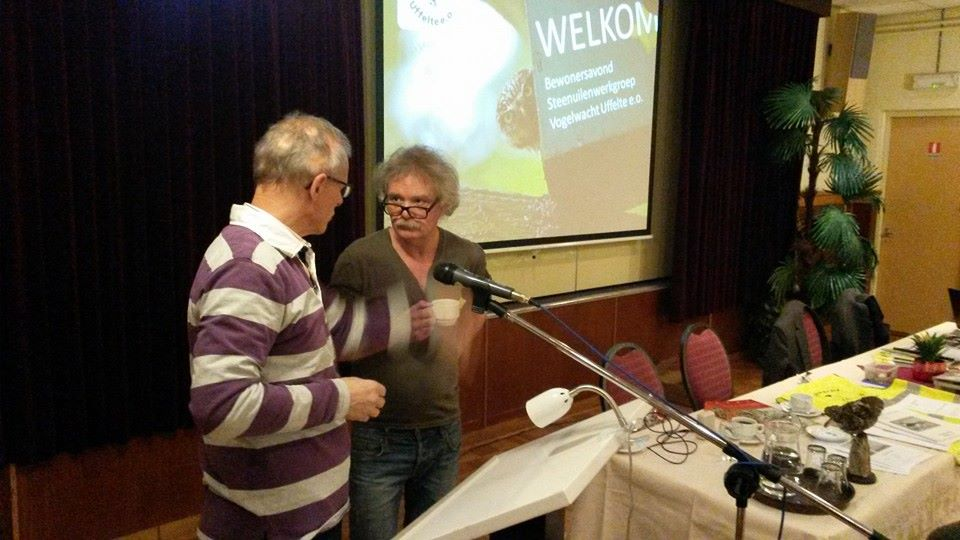 Ronald van Harxen in gesprek met Jan ter Stege (foto Erwin Bruulsema)