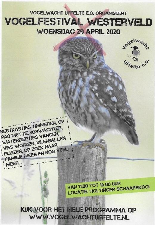 Vindt het Vogelfestival nog dit jaar of volgend jaar plaats?